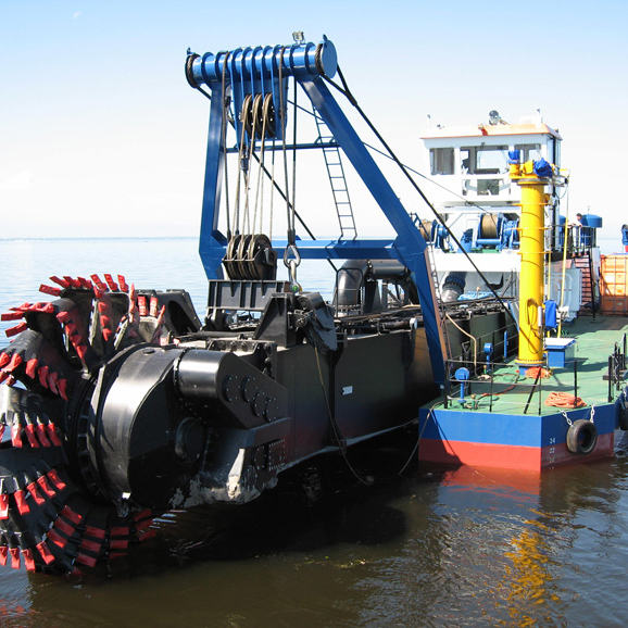 Portable Cutter Suction Dredger with Water Flow 1500m3/H