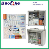 China Baoke Medical Metal First Aid Cabinet First Aid Wall Cabinets