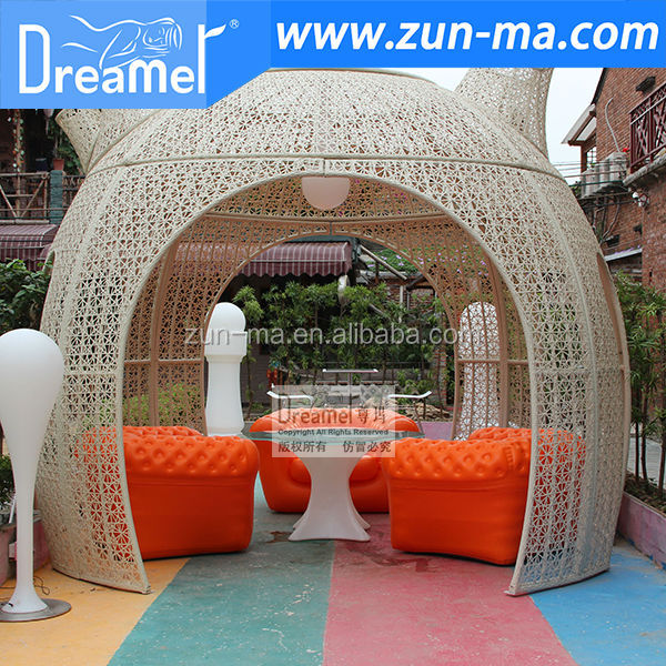 garden furniture outdoor plastic sofa giant inflatable sofa