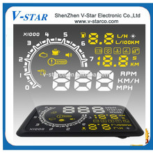 Free Shipping DC 12V Voltage and HUD,HUD head up display Type Wireless Head Up Display wifi connect