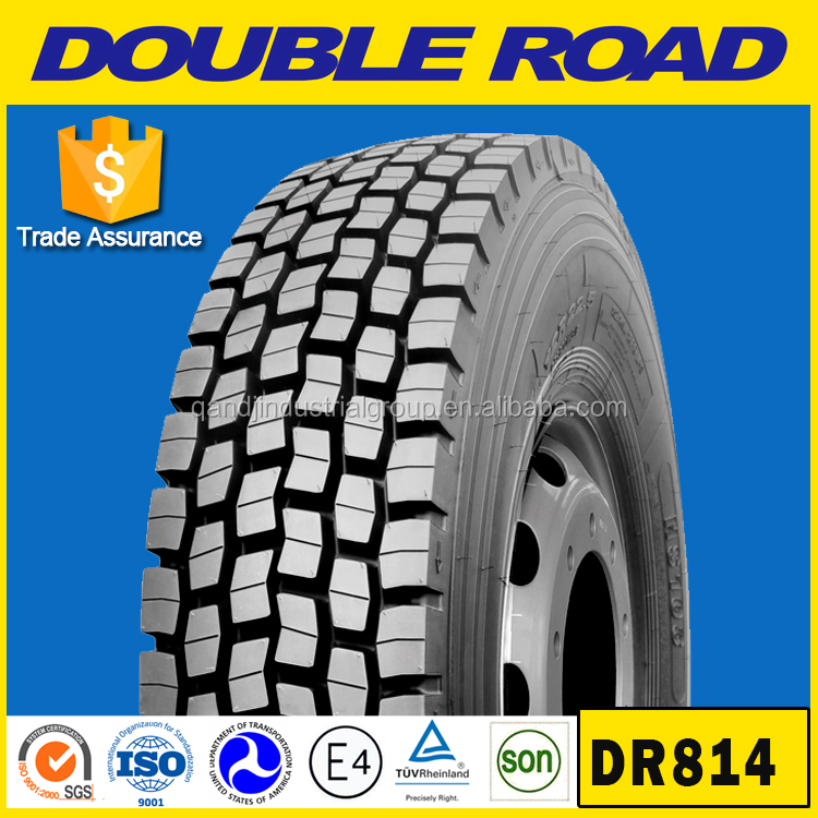 12R22.5 truck tire used for volvo truck parts