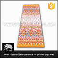 Waterproof eco friendly print PVC yoga mat with bag