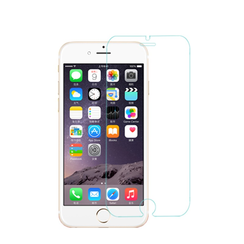 Free shipping Tempered Glass screen protector for Apple <strong>iphone</strong> 6 6s display protective glass film