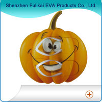 Funny Pumpkin Design High Quality Custom EVA Fashion Flip Flops