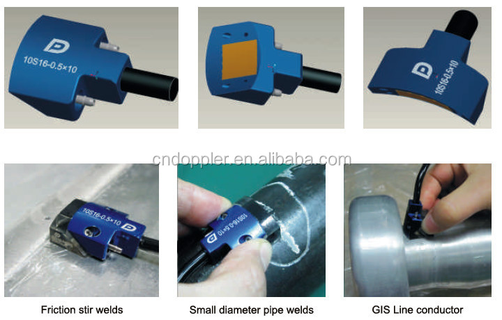 NDT Industry Ultrasonic Phased Array Probe