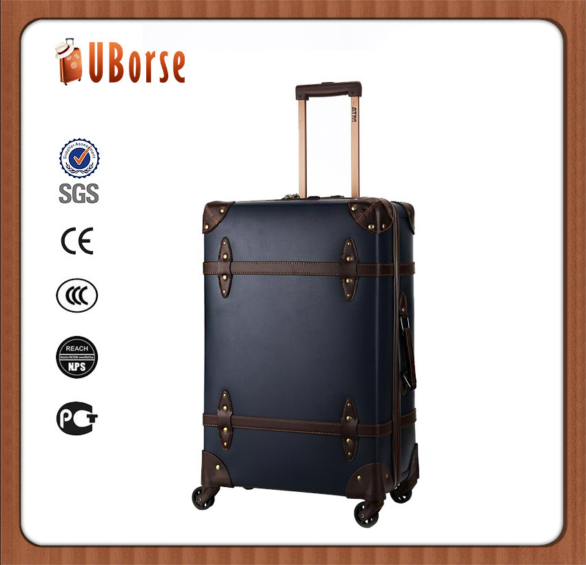 16/19/23/27inch 4 piece valise pvc trolley travel bags cases