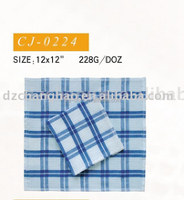 white blue stripe tea towe hand towel face towel