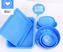 Reusable plastic Hospital Medical Surgical Instrument Tray