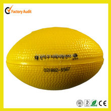 Cheap price rugby stress ball for promotional