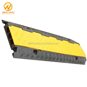 High Quality 5 Channel Rubber And PVC Cable Protector Cable Guard