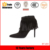 women citi trends popular style black suede upper tassel ankle boot