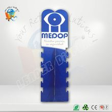 promotional display magnetic storage tin/cans cardboard counter display for pop