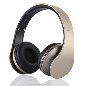 2017 Jiuhu Hot sale Wireless bluetooth headphone ,portable Folding bluetooth headphone speaker four in one LH-811