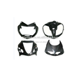 Carbon fiber motorcycle head fairings