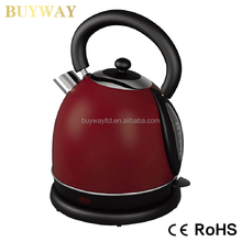 2018 best stainless steel whistling kettle Stainless Steel Electric Kettle