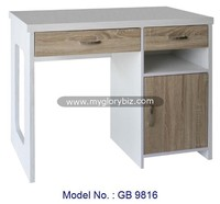 Elegant Computer / Writing Desk Laptop Table Furniture With Drawer For Home And Office