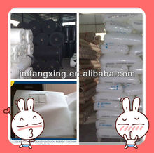 made in Jiangmen, spunbonded non woven, good quality cheap price of pp woven fabric roll