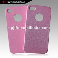 For iphone4 case with unique finishing; Newest cell phone part iphone accessory; For iphone4s pc case/thin design;Newest case