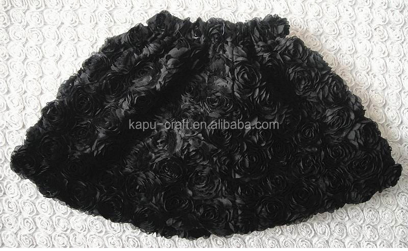 Newest design gorgeous Rosette short skirts (NO MOQ IN STOCK)