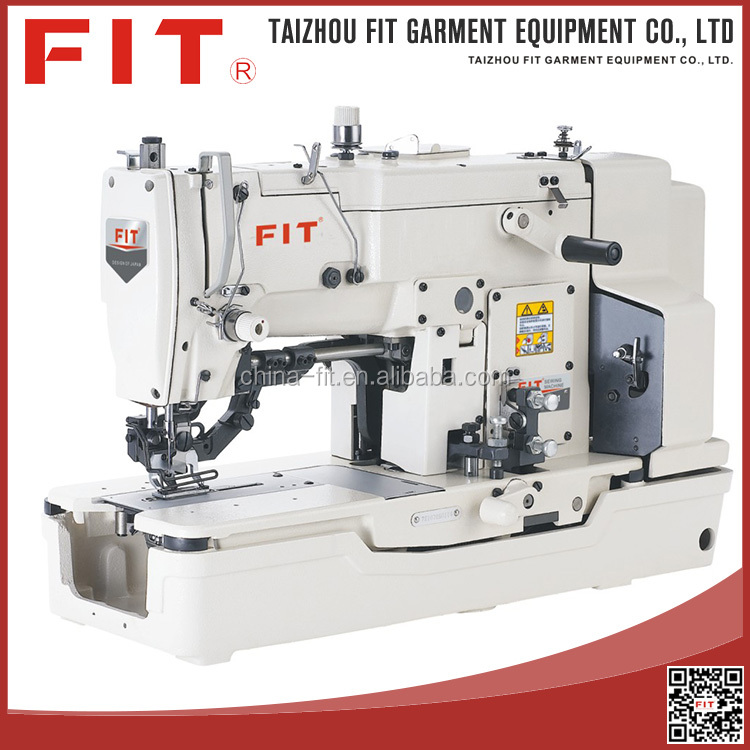 High Speed Lockstitch Straight Button Holing Industrial Sewing Machine Series