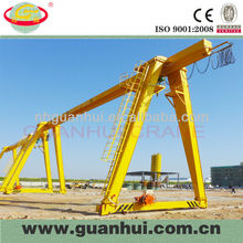 travelling single girder gantry crane 20 ton