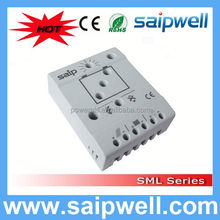 Saip High-Power 20a 12v PWM ac dc hybrid solar charge controller with CE Approval