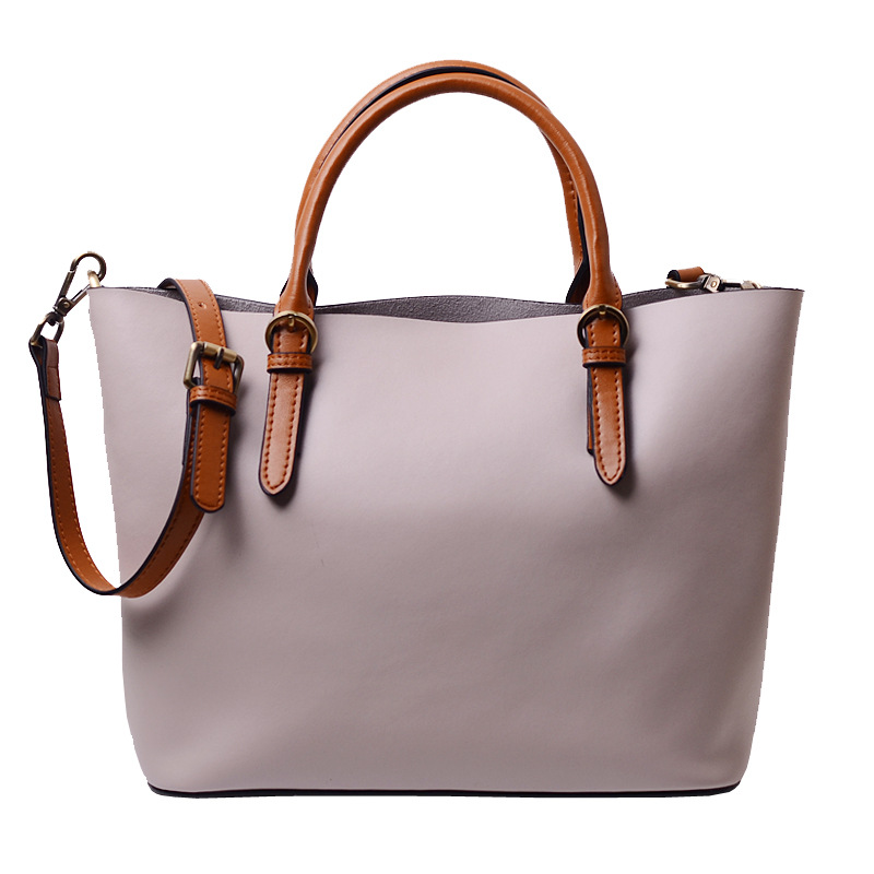 Lady's <strong>handbag</strong>,women genuine leather tote messenger bags
