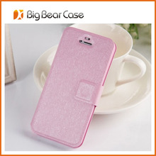 Factory wallet flip wholesale for iphone 5 custom back cover case