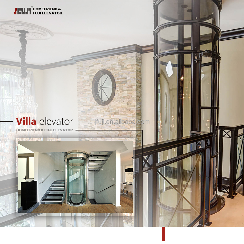 CE ISO VVVF 3 person villa elevator / small elevator / size for small elevator size