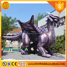 Giant customized inflatable flying dragon mascot with air blowing