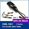 Free shipping for BMW E60 E61 shift knob with LED gear position indicator LHD 2205419Z-E60-668