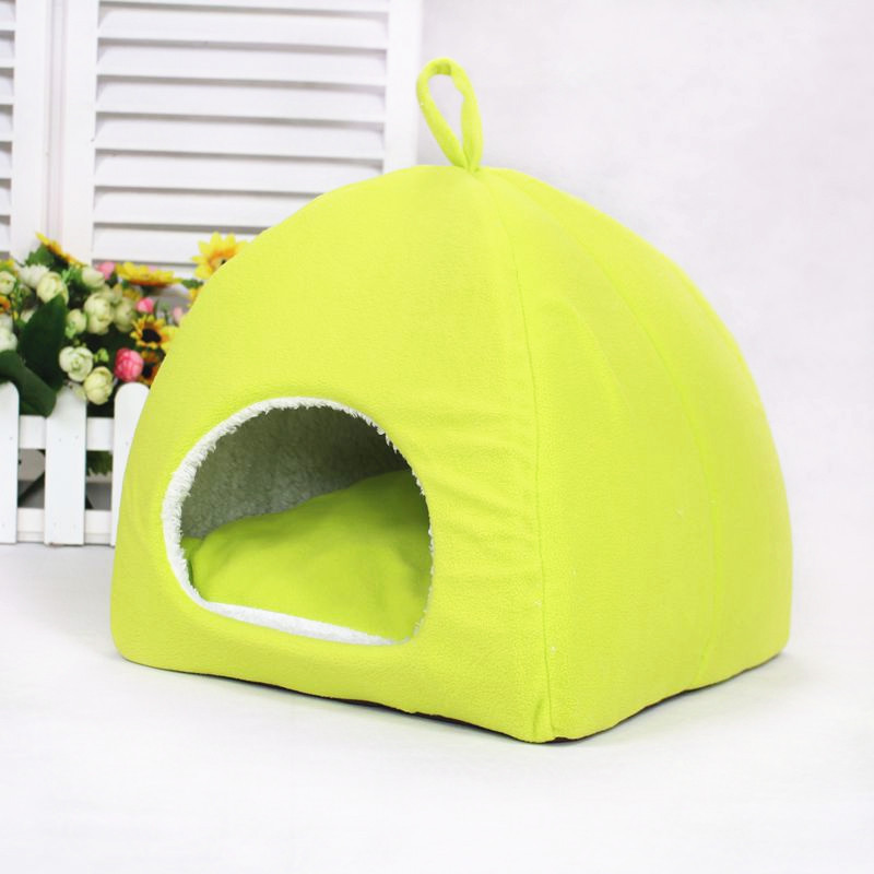 Shelf colorful candy-colored collapsible yurt kennel cat litter pet Waterloo small pet supplies