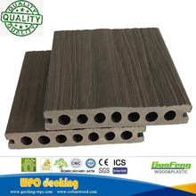 New Design Co-extrusion Wpc Decking Capped By 100% Engeering Plastic