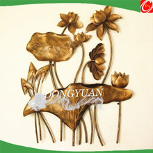 lotus sculpture bronze/ metal flowers for crafts