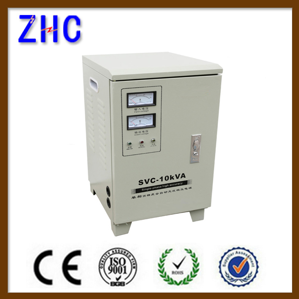 SVC 10kva single phase automatic power home ac generator v guard voltage stabilizer for air conditioner