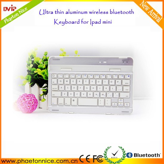 Cheap whosale price 2014 Aluminum mini wireless bluetooth keyboard for ipad mini 2096,legoo bluetooth keyboard