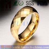 OEM Customize coolman Fashion Men Jewelry Tungsten Ring,yellow gold Tungsten Carbide Wedding Engagement Ring CMR-038-2