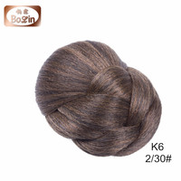 Bolin Hair Factory Price Synthetic Snap Hair Bun Hairpieces For Black Women, Squishy Bun