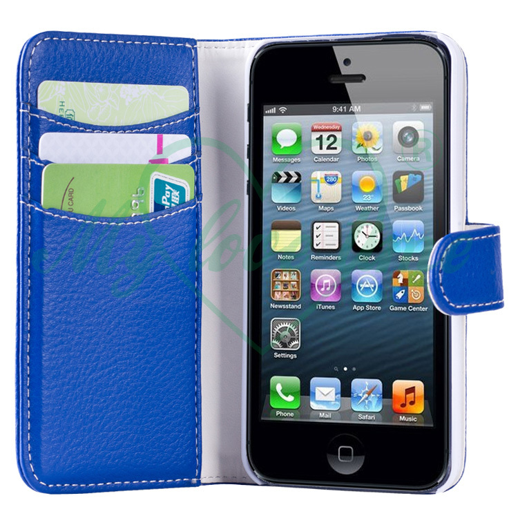 With three card slots cell phone case for Iphone 5S