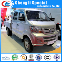 3T loading capacity CDW mini van vehicle Sinotruk 3000KG mini van Wall side cargo truck