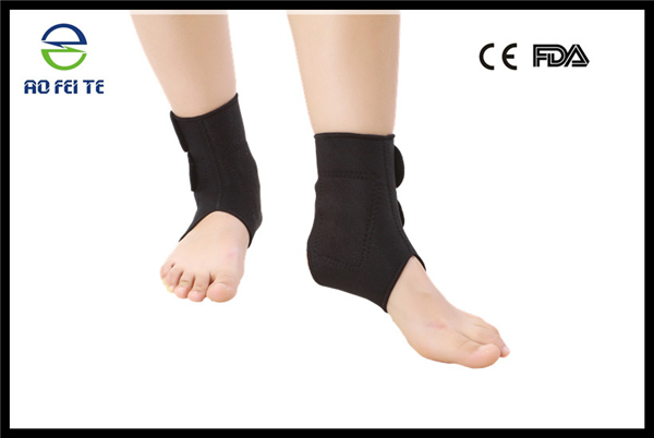 China Manufacturer Tourmaline Magnetic Elastic Ankle Belt Straps Ankle Support Brace FDA/CE Approvals China Manufacturer