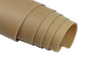 Good Resistance to Acids Eco-friendly 100% Pure Natural Tan Gum Rubber Sheet