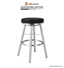 Used commercial Leather bar stool legs