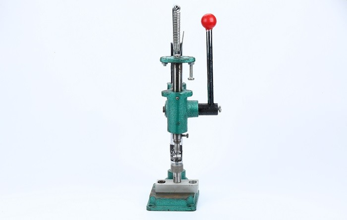 High efficiency easy operation manual fiber optic crimping machine