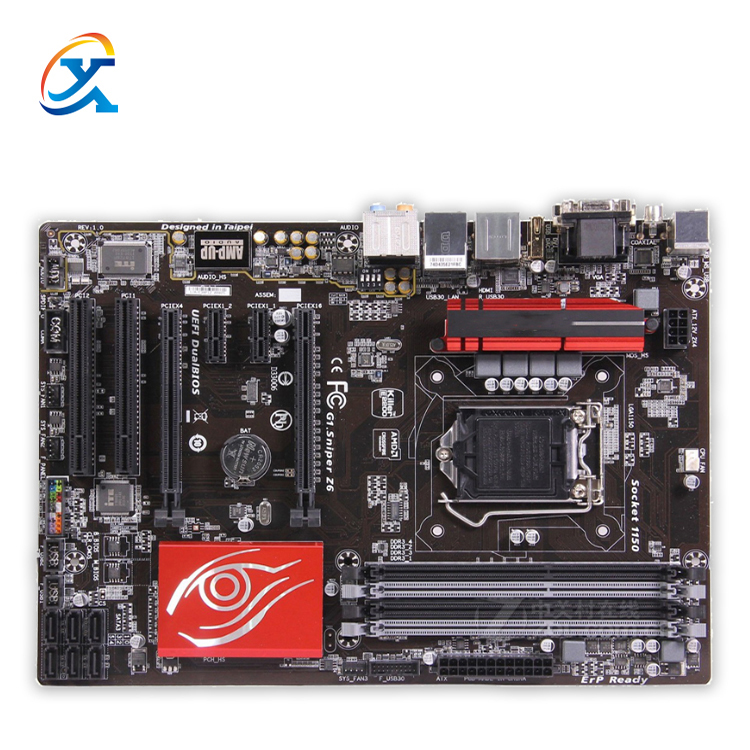 For Gigabyte GA-<strong>G1</strong>.Sniper Z6 Hight Quality Desktop Motherboard <strong>G1</strong>.Sniper Z6 Z97 LGA 1150 DDR3 ATX 100% Fully Test