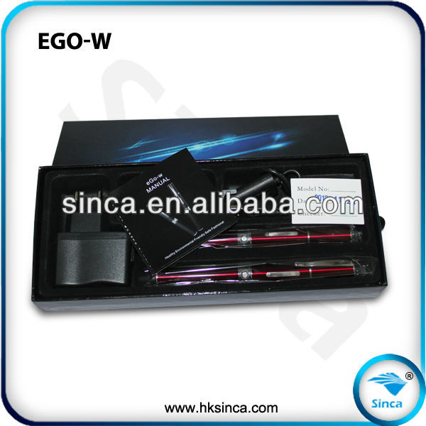 China wholesale best vaporizer clearomizer pen style ego-w starter kit