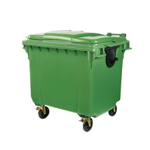 1100 liter garbage bin corrugated plastic recycle bin made in China