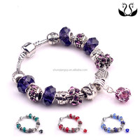 2016 Wholesale Lady Fashion Crystal Bead Bracelet Accessories
