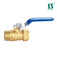 tube plastic quick connect ball valve brass water with lock