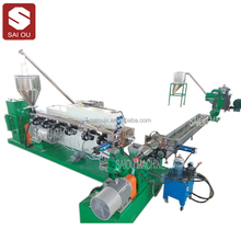 Pe Pp Hdpe Flakes plastic recycling granulator machine Has High Efficiency In Making Granules